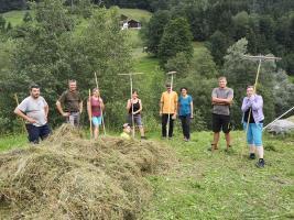 Team Sommer - Hannes, Sigi, Ulli, Angelika, Helga, Christof, Katharina, Sarah ...